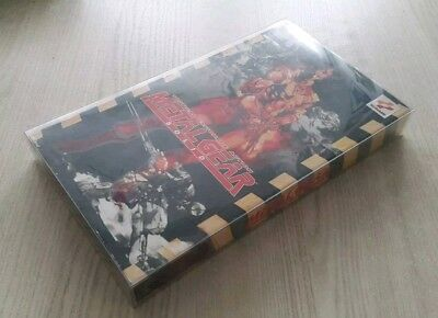Metal Gear Solid Long Box Double Pack 0,5mm PET Protect Case Schutzhülle PS1 MGS