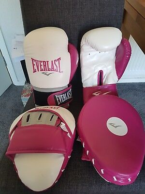 Everlast Boxing Gloves and Sparing Mitts *FREE POSTAGE*