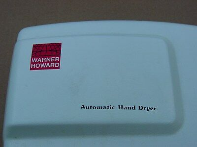 Warner Howard Automatic Hand Dryer Wall Mounted Electric