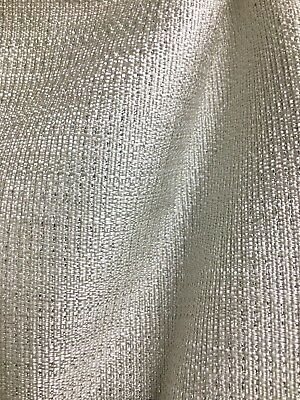 Silver Grey Metallic Gator Upholstery Vinyl Fabric Sold By The