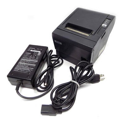 Epson TM-T88III M129C POS Thermal Receipt Printer w/ Power Adapter *TESTED*