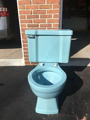 Vintage One Flush American Standard Toilet 4049 Round Bowl