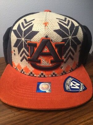 the latest fb2b1 61c2a Auburn Tigers Top Of The World Ugly Sweater Strapback Hat. Brand New. One  Size