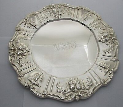 Reed & Barton Sterling Francis I Sandwich Plate Circa 1907