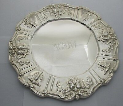 Reed & Barton Sterling Francis I Sandwich/Service Plate Circa 1907