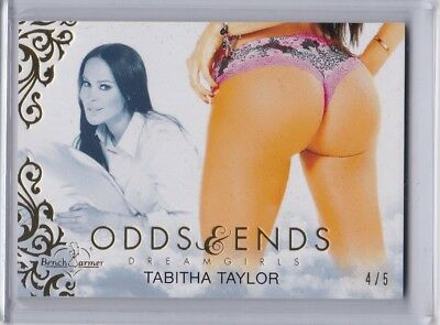 Benchwarmer Dreamgirls Tabitha Taylor 4/5 Odds & Ends Butt Card Booty