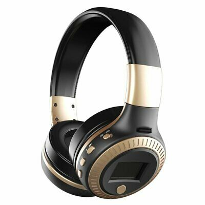 Bluetooth Wireless Headset Foldable HiFi Stereo Bass Headphones Noise Cancelling
