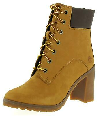 TIMBERLAND ALLINGTON 6IN Lace U Womens Wheat Boots EUR 120