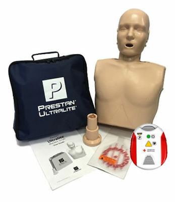 Prestan Ultralite CPR Manikin and Red Cross AED Trainer