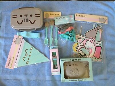 Pusheen The Cat Collection-7 New Unopened Collectables-Sold Out