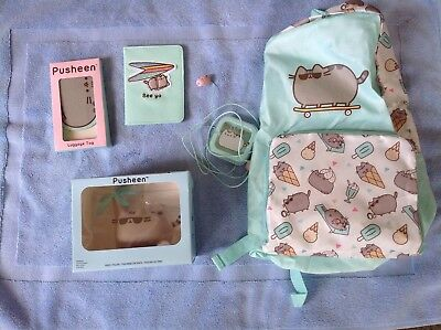 Pusheen The Cat Travel Collection-5 New Unopened Collectables-Sold Out