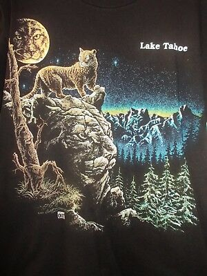 1993 Stand Out  Lake Tahoe mens Tee Oneita power-t size L 42-44 sighed Gardner