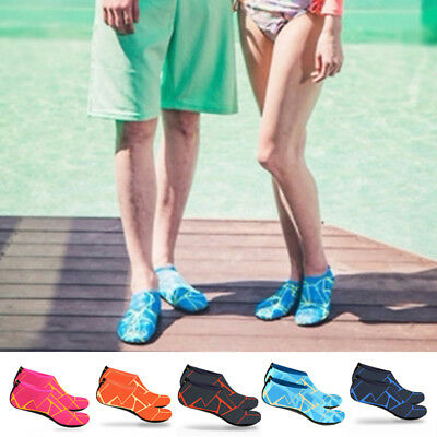 Hot Mens Women Outdoor Water Sport Diving Swim Socks Yoga Soft Beach Shoes Pairs