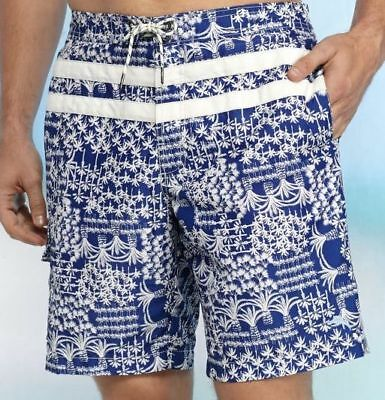"""Tommy Bahama Mens the Baja Poolside 9/"""" Swim Trunks MSRP $78 NWT NEW AUTHENTIC"""