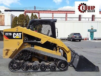 2015 Caterpillar 277D Track Skid Steer Loader - Auxiliary Hydraulics - 2 Speed