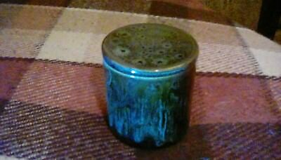 "Fosters Pottery Lidded Pot, 3.25"" Tall For Trinkets Or Jam."