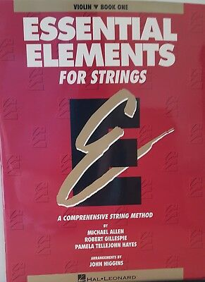 Essential Elements for Strings:  Violin-Book One