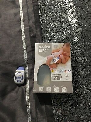 Snuza Hero MD BABY BREATHING MONITOR Mint condition RRP 78.99£