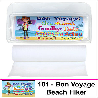 GottaTinkle! Mini Travel Size Toilet Paper Rolls (Bon Voyage Mix) (3-Pack)