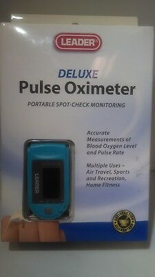 Leader Pulse Oximeter Deluxe, Pocket Size,