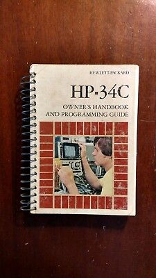 HP-34C Manual  from HP-34C programmable calculator.