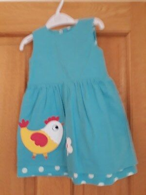 New with tags Frugi organic cotton reversible dress 18- 24 months