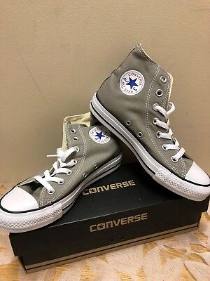 Kid/'s Converse CT Bev Boots High 626054C Gray//Charcoal Brand New In Box