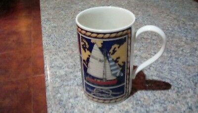 Lovely Dunoon Nautique Mug  Designed By Jackie Reynolds.