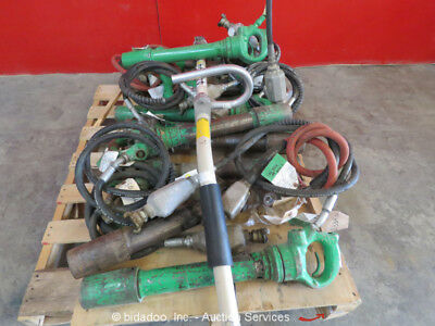 Lot of (13) Misc APT Pneumatic Demolition Breaker Air Jack Demo Hammer bidadoo