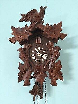Vintage estate German wooden cuckoo clock  Germany