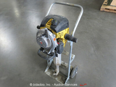 2013 Wacker Neuson BH65 Gas Powered Breaker Demo Jack Hammer w/ Cart bidadoo