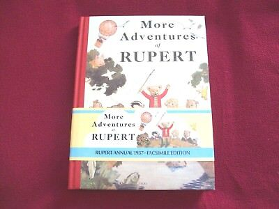 More Adventures Or Rupert - Rupert Annual 1937 Facsimile Limited Edition (13873)