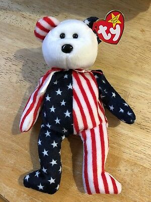 TY Beanie Babies Original  *1999 SPANGLE* ERROR, AUTHENTIC, RARE