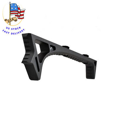 US M-Lock LINK Curved Angled Foregrip Front Grip Fit Handguard For Rifle Hunt