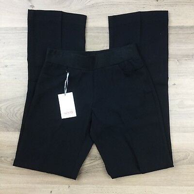 Soon Maternity Pants Work Office Classic Black Size XS or 6 NWT RRP$119 (BJ13)