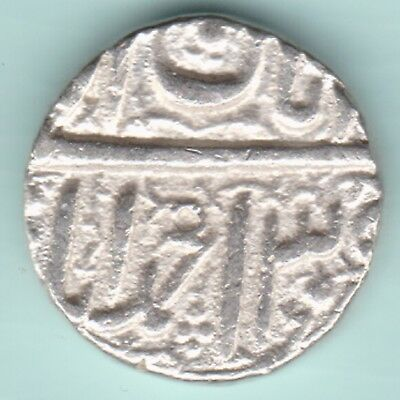 Mughal India - Mohammed Akbar - Ahmedabad Mint- One Rupee - Rare Silver Coin