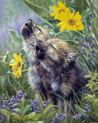 Full drill DIY 5D Diamond Painting Animal Wolf pups Fashion Decor Art M505