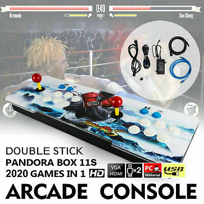 New 2020 in 1 Pandora's Box 6S Video Games Double Stick Arcade Console
