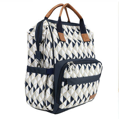 New Multifunction Mummy Diaper Nappy Backpack Newborn Baby Changing Bag