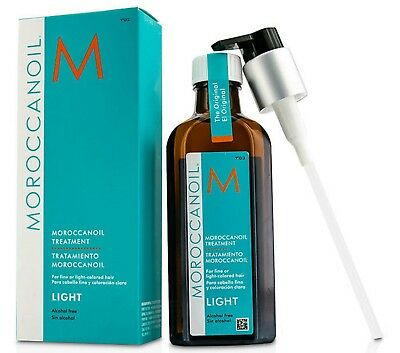 Moroccan Oil Light Oil Treatment 100Ml With Pump Free Ship