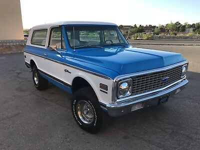 1972 Chevrolet Blazer  1972 Chevrolet K5 Blazer CST Custom Two Tone Frame Off Chevy 350 Fully Restored