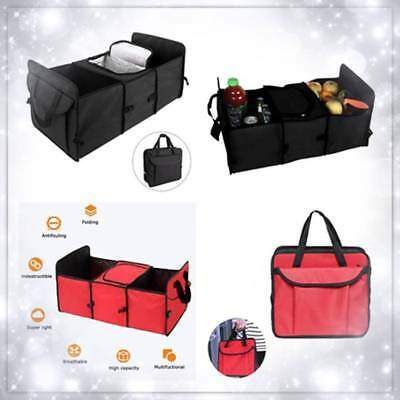Car Van Trunk Multi Compartment Foldable Organizer Collapsible Truck Storage Bag
