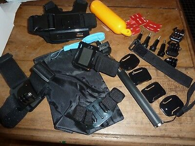 23 In 1 Kit Accessories For Gopro Hero 3 4 3 Plus SJ4000 Sports camera UK Seller