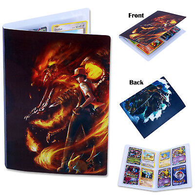 Binder Folder Folio Album Holder Book List Portfolio For Pokemon Collectors Card
