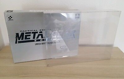 NEU Metal Gear Solid Premium Package Schutzhülle Protect Case 0,5mm PET NEW