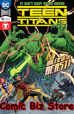 Teen Titans #19 (2018) 1St Printing Dc Universe Rebirth Bagged & Boarded