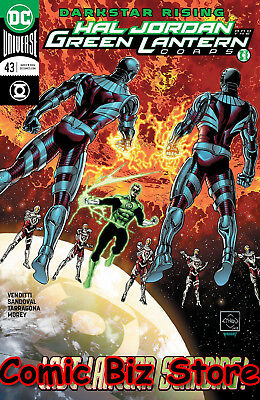 Hal Jordan And The Green Lantern Corps #43 (2018) 1St Print Dc Universe Rebirth