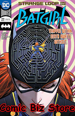 Batgirl #22 (2018) 1St Printing Dc Universe Bagged & Boarded