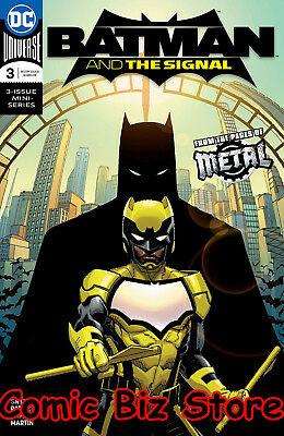 Batman And The Signal #3 (Of 3) (2018) 1St Printing Dark Nights Metal Tie-In