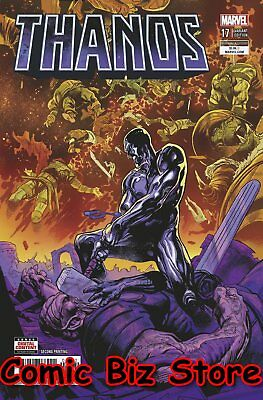 Thanos #17 (2018) 2Nd Printing Shaw Variant Cover Cosmic Ghost Rider